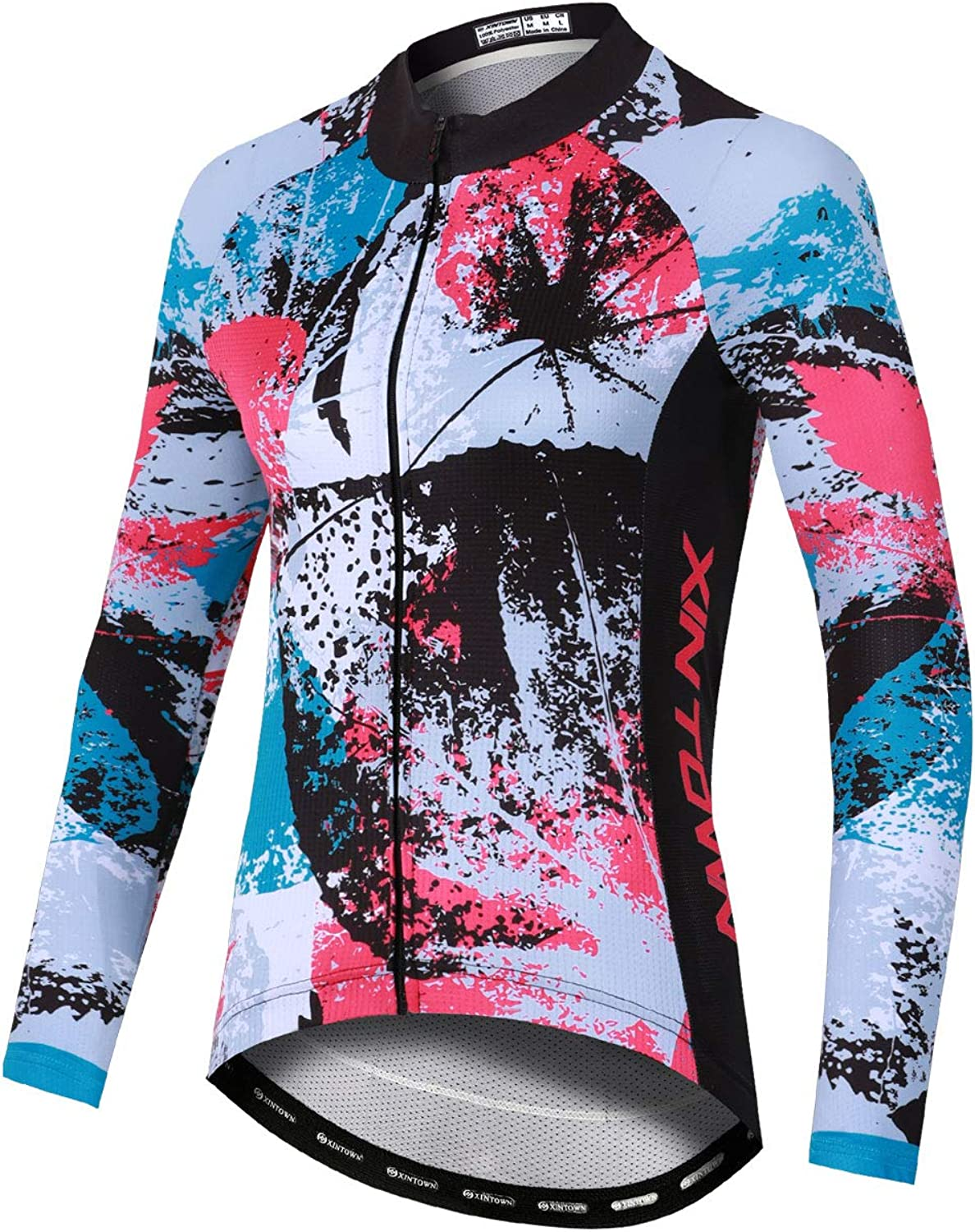 Details about  /Women Summer bicycle Cycling Jersey Quick Dry T Shirt Full Zipper Cycling Top
