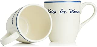 Votes for Women Mug by The Preservation Society of Newport County, Pack of 2