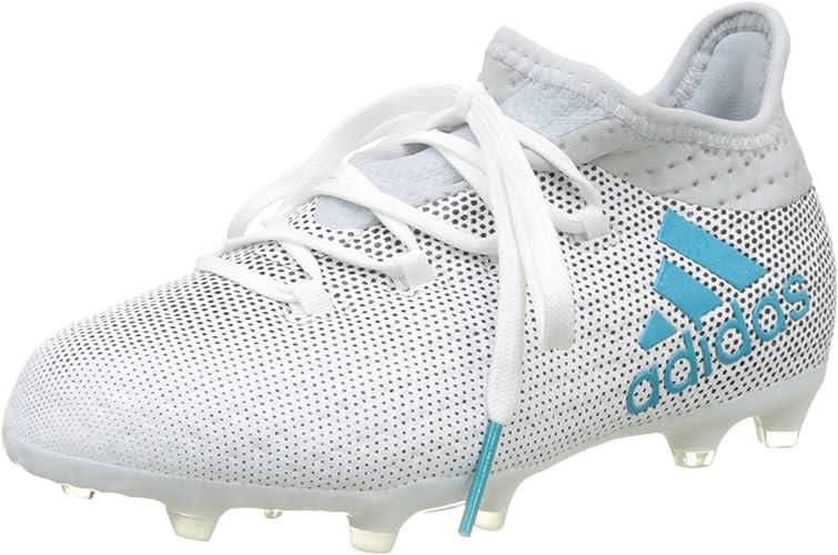 Adidas X 17.1 FG, Chaussures de Football Mixte Enfant