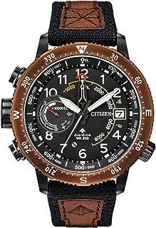 Citizen - Promaster Altichron BN5055-05E - Reloj de cuarzo para hombre, correa de Cordura, color caqui