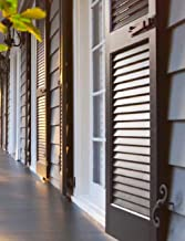 Aeratis 1 Pair Custom Operable Louver Shutters Up to 21