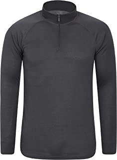 Mountain Warehouse Talus Mens Thermal Baselayer Top - Quick Drying Winter Jumper, Easy Care, Long Sleeves, Sweater, Breath...