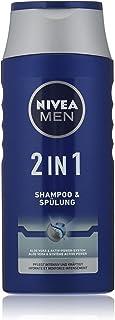 NIVEA Men - Champú y acondicionador 2 en 1 (250 ml) champú eficaz con aloe vera champú hidratante con sistema de potenci...
