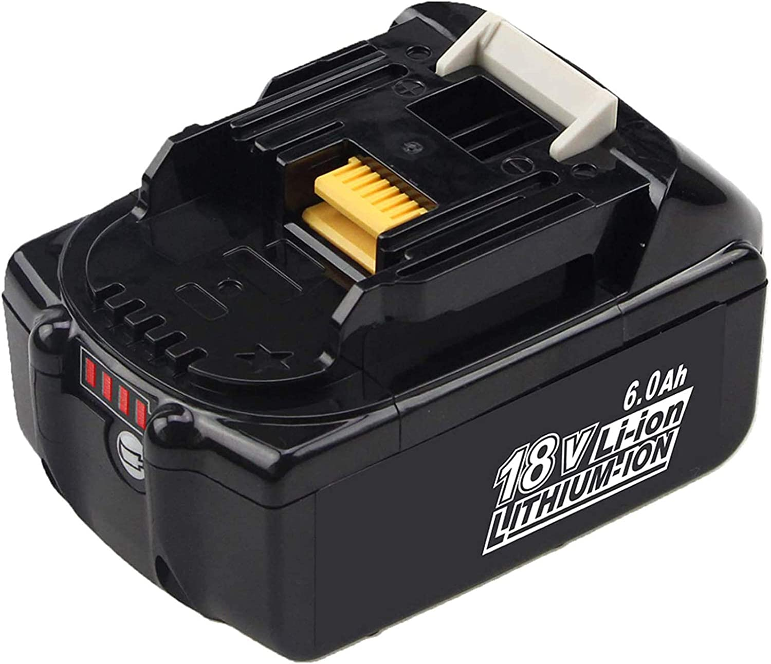 6.0Ah BL1860B 100% quality warranty Replacement Battery Compatible Ranking TOP1 Makita with Bat 18V