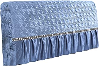 Headboard Cover King Thick Bed Slipcover Protector Stretch Dustproof Wood Leather for Twin Queen Full California Size Beds...