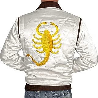 Arrivals Ryan Gosling Scorpion Bomber Satin Men Jacket