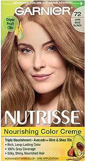 Garnier Nutrisse Haircolor, Dark Beige Blonde [72] 1 ea (Pack of 6)