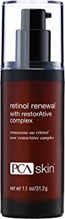 PCA SKIN Retinol Renewal with Restorative Complex, Nighttime Treatment for Early Aging, 1 Fl Oz