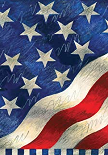 Toland Home Garden Star Spangled Banner 28 x 40 Inch Decorative Patriotic America July 4 USA House Flag