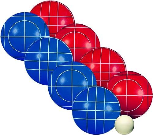 Franklin Sports Boccce Ball Set, Unisex, rot, 1