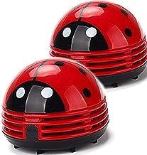 Ladybug Vacuum Cleaner – Mini Vacuum Cleaner Portable Corner Desk Vacuum Cleaner..