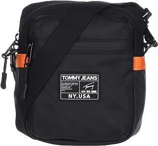 حقيبة ريبورتر صغيرة اوربان تيك من النايلون للرجال من تومي جينز، لون اسود طراز AM0AM05909