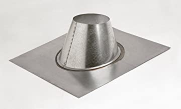 Metal-Fab 3MF Double Wall Vent Pipe 3 in. Adjustable Roof Flashing