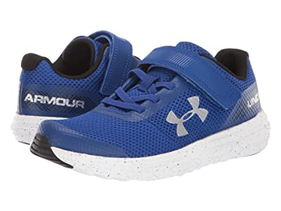 Under Armour Kids UA BPS Surge Running AC (Little Kid) (Royal/White/Metallic Silver) Boys Shoes