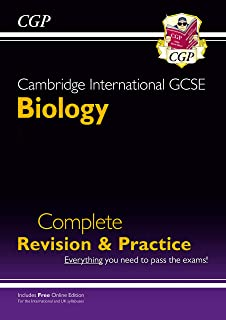 New Cambridge International GCSE Biology Complete Revision & Practice: Core & Extended + Online Ed