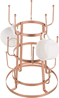 Spectrum Diversified A18479 Copper Rounded Mug Coffee /& Tea Cup Holder Organizer One