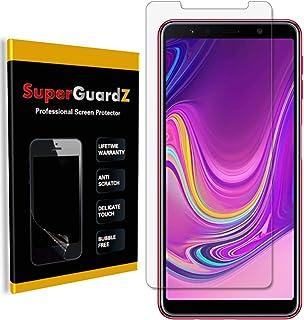 [8 عبوات] واقي شاشة Samsung Galaxy A7 (2018)، فائق الشفافة، مضاد للخدش، مضاد للفقاعات [استبدال مدى الحياة]