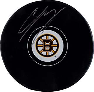 Charlie McAvoy Boston Bruins Autographed Hockey Puck - Fanatics Authentic Certified - Autographed NHL Pucks