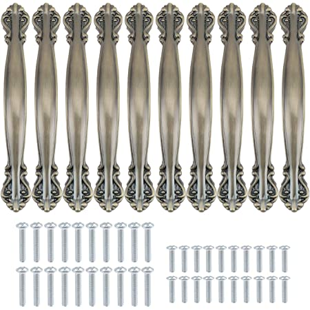 160mm, Silber Schr/änke,Hause B/üro Dekoration T/ür Voleseni/™ M/öbelgriffe Schubladengriffe Relinggriff Handgriff Griff f/ür K/üche Schublade