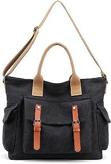 Women's Handbag,Canvas Shoulder Bag Ladies Top-Handle Bags Weekender Beach Tote