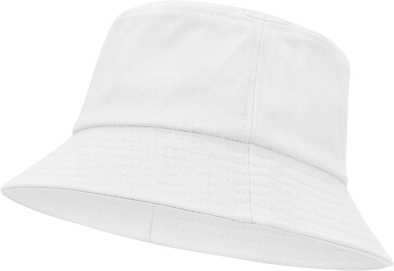 Durio Bucket Hat for Women Teens Travel Summer Womens Bucket Hats Packable Beach Sun Hat