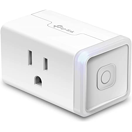 Kasa Smart Plug Mini, Smart Home Wi-Fi Outlet Works with Alexa & Google Home, Wi-Fi Simple Setup, No Hub Required – A Certified for Humans Device (HS105)