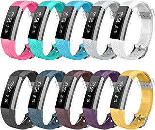 AIUNIT Fitbit Alta HR and Alta Band, Fitbit Alta Accessories Bands Watch Buckle Design Replacement Bands Small/Large for Fitbit Alta HR Wristbands for Fitbit Ace for Women Men Boys Girls