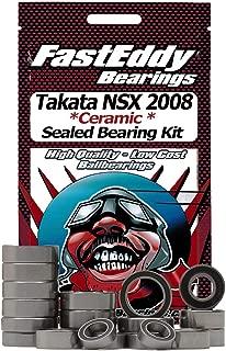 Tamiya Takata NSX 2008 (TB-03) Ceramic Rubber Sealed Ball Bearing Kit for RC Cars