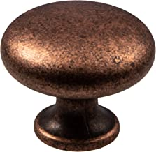 Gedotec Duke Design meubelknop koper rustieke kastknop vintage voor laden | luxe deurknop rond | commodeknop keuken met Ø ...