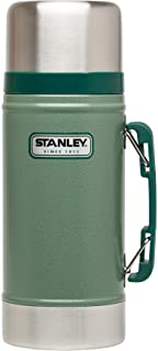 Stanley Classic Legendary Vacuum Insulated Food Jar 24oz – Stainless Steel, Naturally BPA-free Container – Keeps Food/Liquid Hot or Cold for 15 Hours – Leak Resistant, Easy Clean