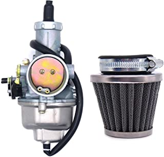 PZ30 30mm Carburetor with Cable Choke Lever and Air Filter for 150 200 250 300 cc Pit Dirt Bike ATV Scooter Moped Engines