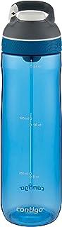 Contigo AUTOSEAL Cortland Water Bottle, 24 oz., Greyed Jade 24 oz. Blue 70602ZCN