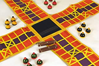Simple Days Pachisi Pagade Thayam Chaupad Ludo Indian Traditional Board Game