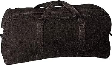 Rothco Canvas Tanker Style Tool Bag, Black