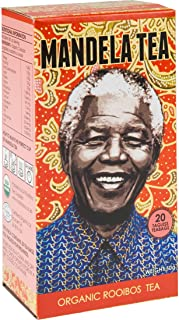 Mandela Tea Organic Rooibos 20 Tea Bags