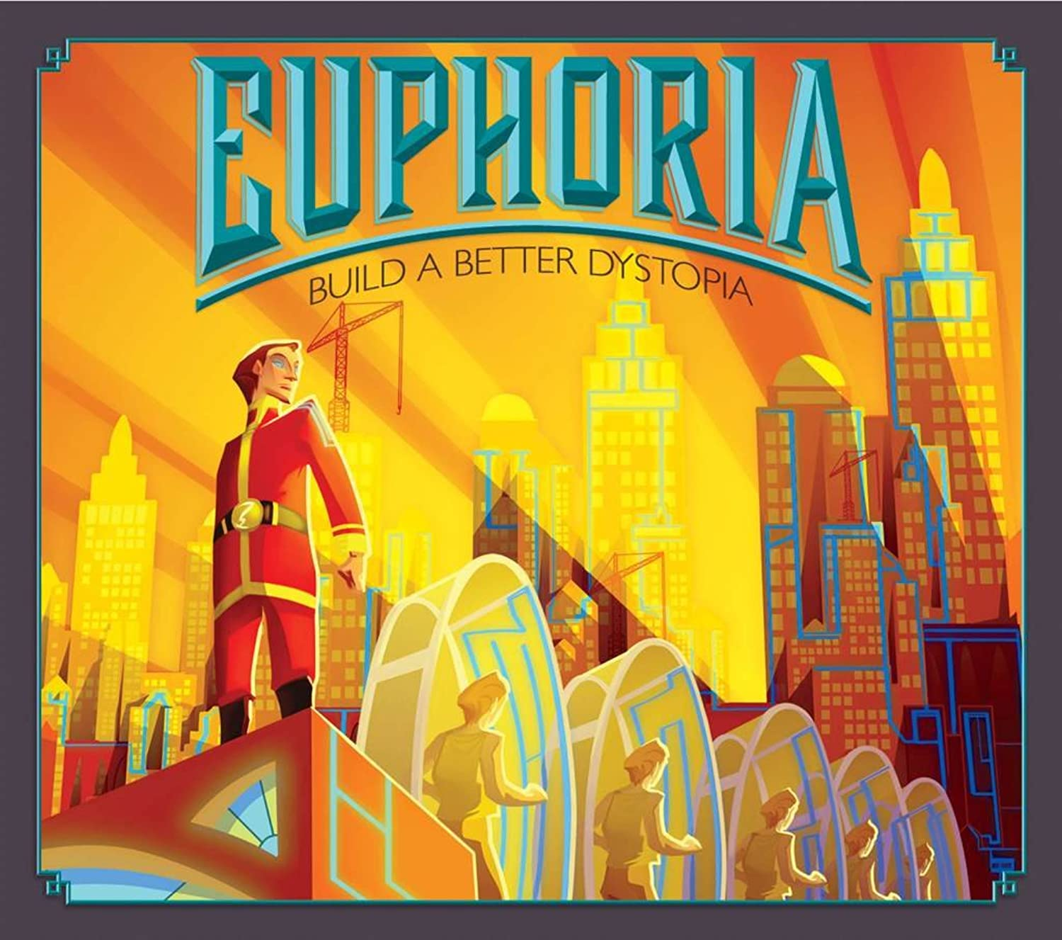 Euphoria  Build a Better Dystopia Board Game by Stonemaier Games