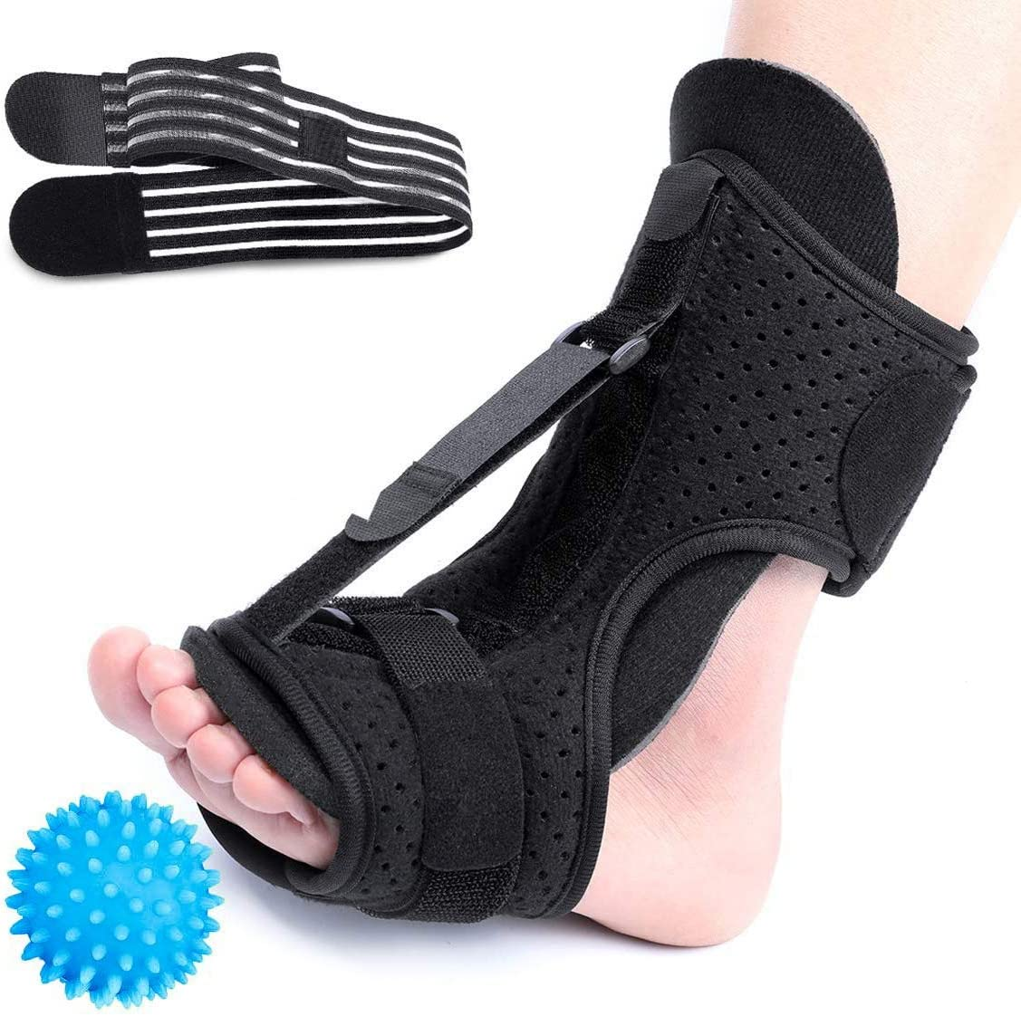 Arch Foot Pain Green Heel Brace for Drop Foot CHARMINER Plantar Fasciitis Night Splint Effective Relief from Plantar Fasciitis Pain Adjustable Plantar Fasciitis Brace