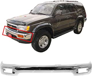 MBI AUTO - Chrome, Steel Front Bumper Face Bar for 1996-1998 Toyota 4Runner Limited 96-98, TO1002172