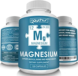 Magnesium Citrate Supplement Complex - Muscle Relaxer Pills Recovery - Restless Leg Syndrome Relief Leg Cramps Defense - Vegan Sleep Aid for Women Men Pure 500mg Non-GMO - 120 Vegetable Capsules