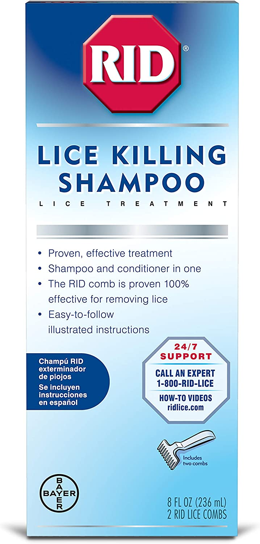 Rid Lice Killing Max 49% OFF Shampoo Step 1 High quality new of oz 3 8 Pack