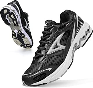 ASHION Chaussures Outdoor Running Fitness Sneakers Multicolore Randonnée Basses Homme Basket Compétition Training Tennis G...