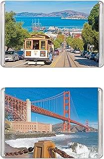 Minipix Puzzles - Bundle of 2 Puzzles - San Francisco & Golden Gate Bridge
