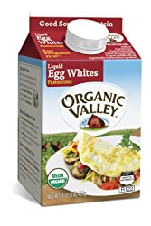 Organic Valley, Organic Liquid Egg Whites - 16 oz Pint