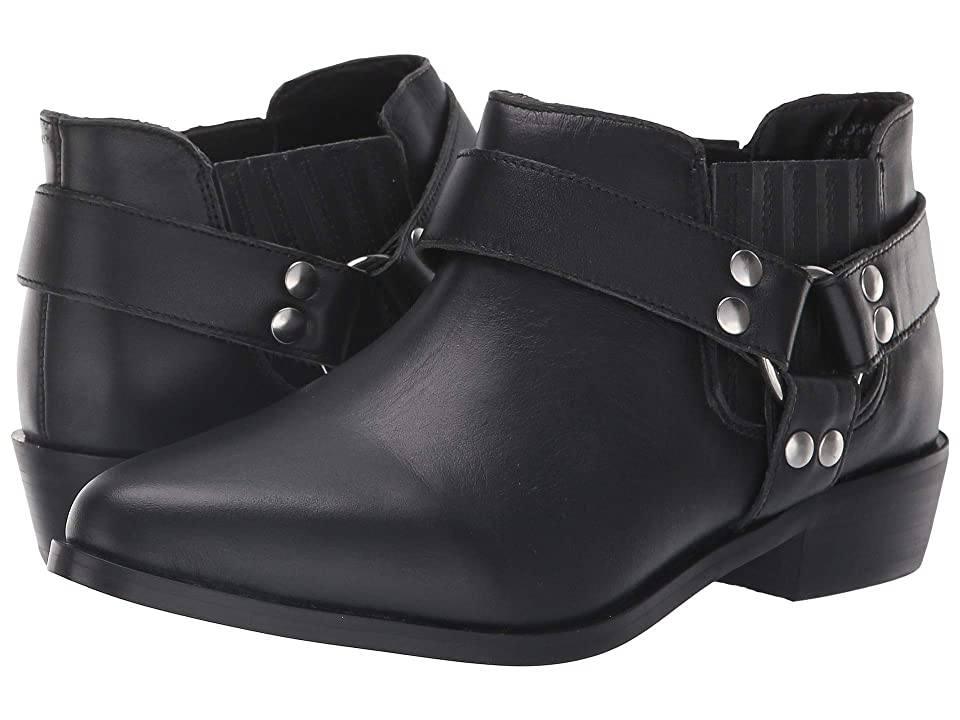 JANE AND THE SHOE Lindsey (Black Leather) Women