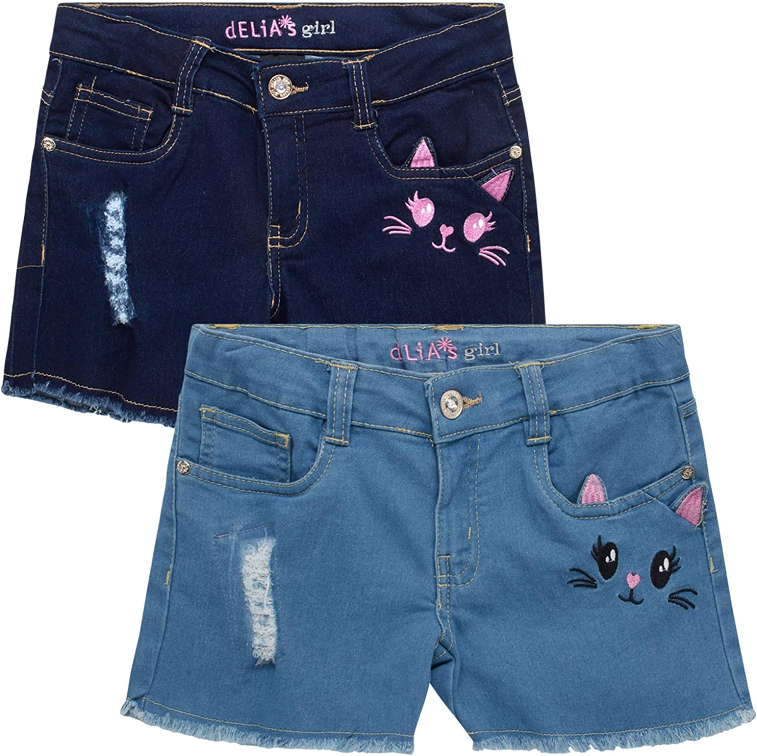 dELiAs Girl's Denim Max 50% OFF Twill Shorts 2 Department store Pack