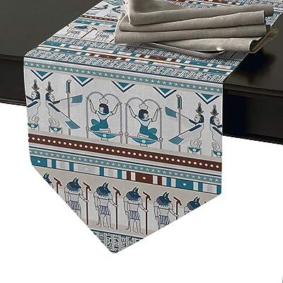 Amazon.com: LBDecor - Camino de mesa de arpillera estilo ...