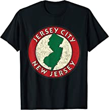 Jersey City T Shirt - Vintage Sign Distressed Print