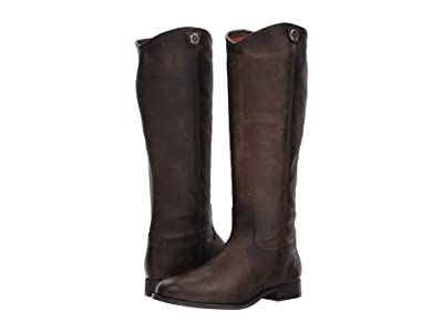 Frye Melissa Button 2 (Slate) Cowboy Boots