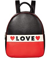 LOVE Moschino - Love Heart Backpack