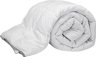 Pikolin Home - Edredón/Relleno nórdico natural de plumón de oca 96%, funda 100% algodón de percal, 220gr/m², 260x240cm-Cama 180 (Todas las medidas)